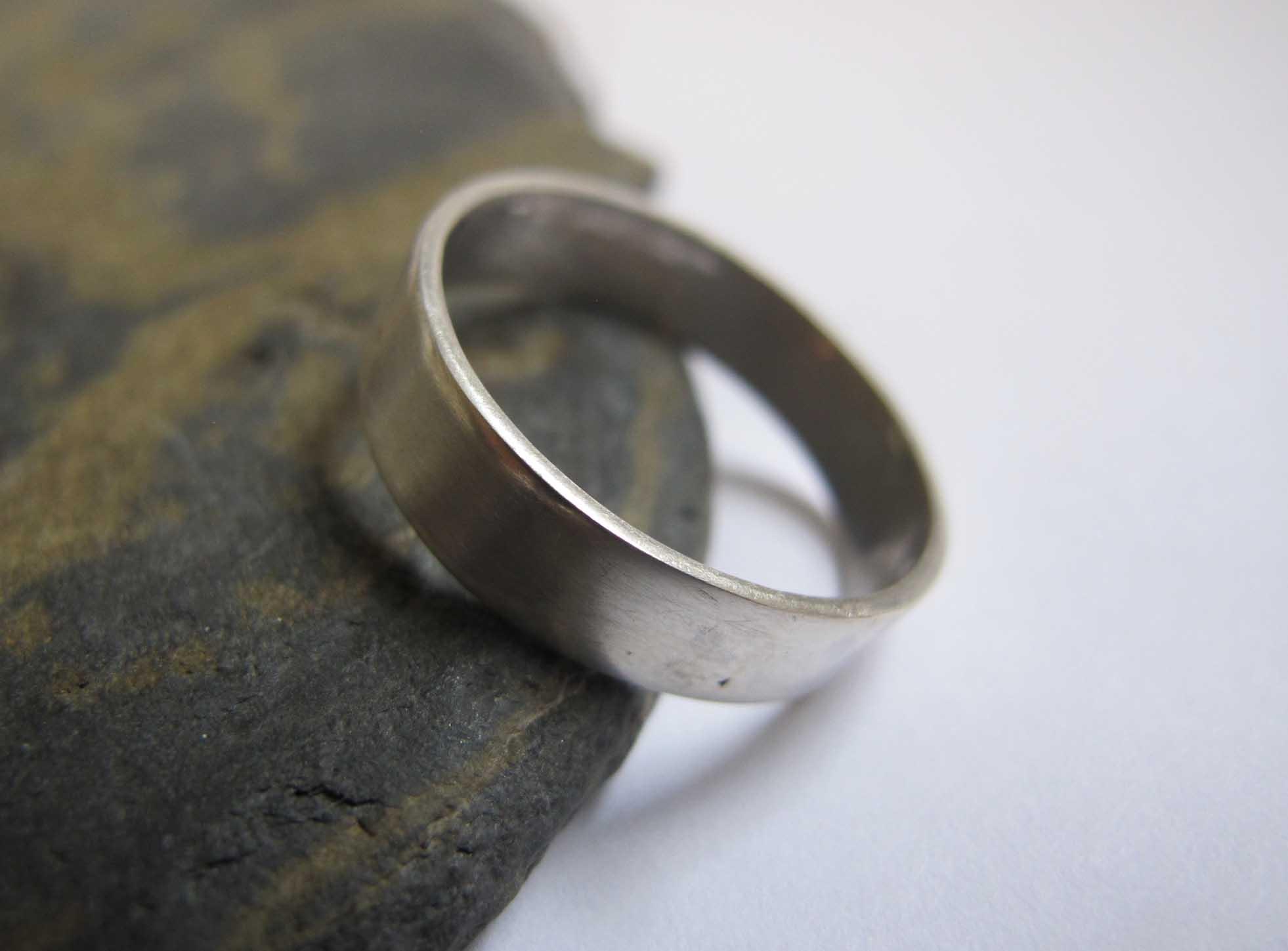 Men S Handmade Wedding Band Rings London London S